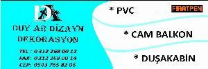 Duyar Cam Balkon Sistemleri Pvc Kapı Pencere Siste